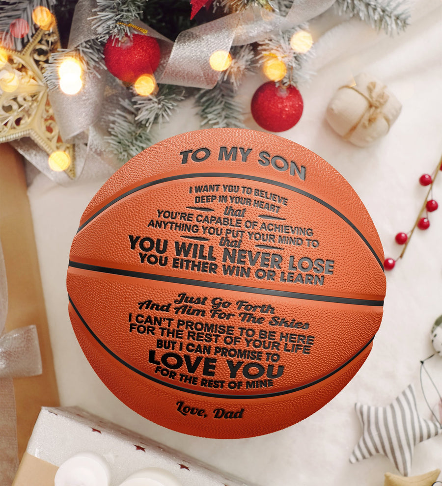 Dad to Son - You Will Never Lose - Basketball