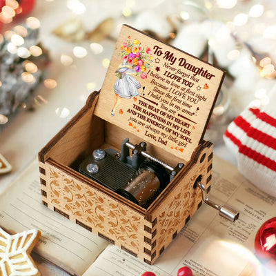 Dad To Dau - You Are Always My Little Girl - Colorful Music Box