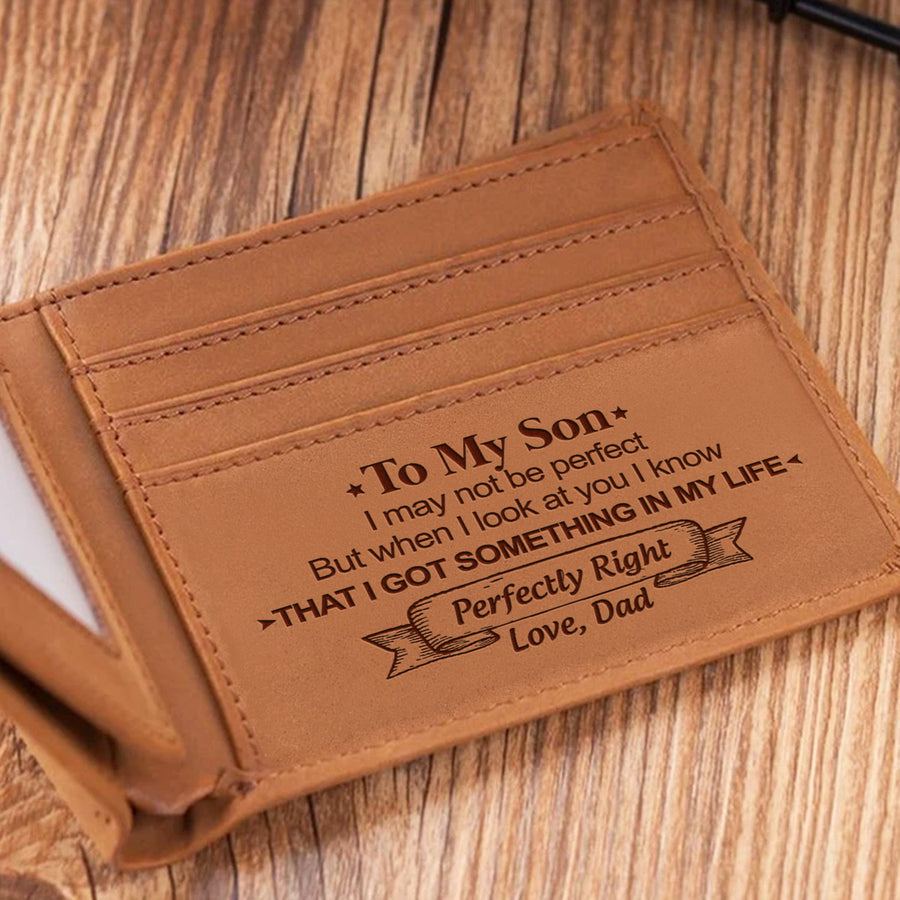 Dad To Son - When I Look At You - Bifold Wallet