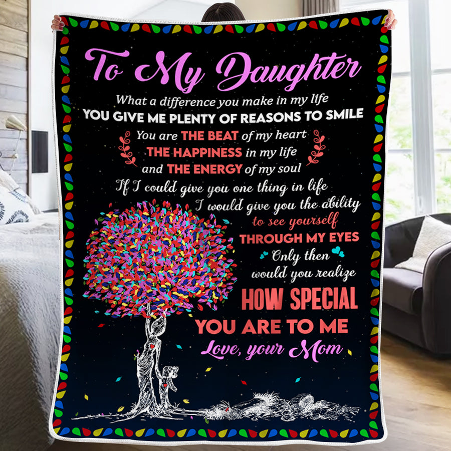 Mom To Daughter - How Special You Are To Me - Blanket
