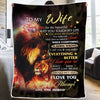 Husband to Wife - I Love You so - Blanket