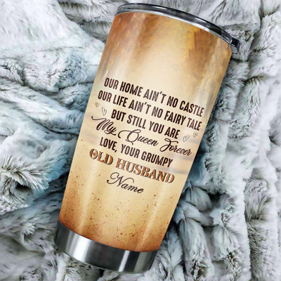 My Queen Forever - Personalized Tumbler