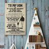 Dad To Son - My Little Boy Yesterday - Vertical Matte Posters
