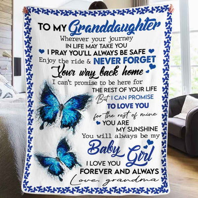 Grandma To Granddaugter - You Are My Sunshine - Blanket