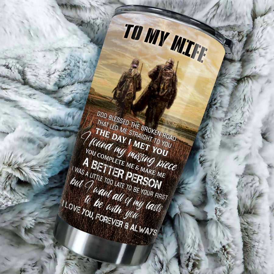 To My Wife - You complete me - Tumbler