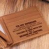 To My Husband - Falling In Love With You Was Beyond My Control - Bifold Wallet