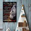 To My Beloved - I Love You More - Vertical Matte Posters
