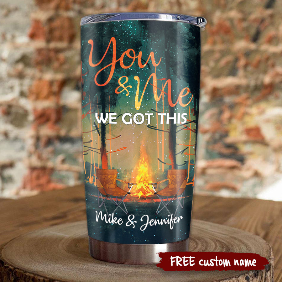To My Wife - Spending time with you is so precious - Personalized Tumbler