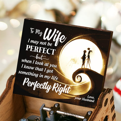 Husband To Wife - Perfectly Right - Colorful Music Box