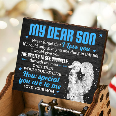 Mom To Son - Never forget that I Love You - Music Box Color