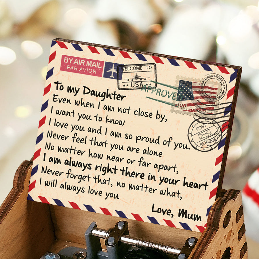 Mum To Daughter - I'm Always Right There In Your Heart - Colorful Music Box