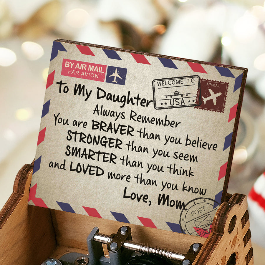 Mom To Daughter - Always Remember - Colorful Music Box