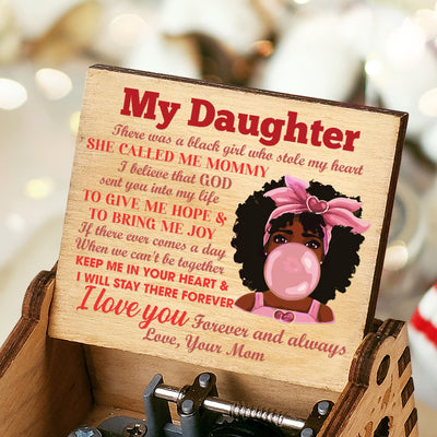Mom to Daughter - Keep Me In Your Heart And I Will Stay There Forever - Color Music Box