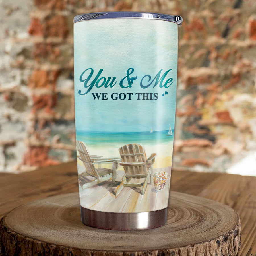 We Got This - Personalized Tumbler - Special Gift For Your Wife - Birthday gift, Christmas gift for wife, Best gift for your wife.