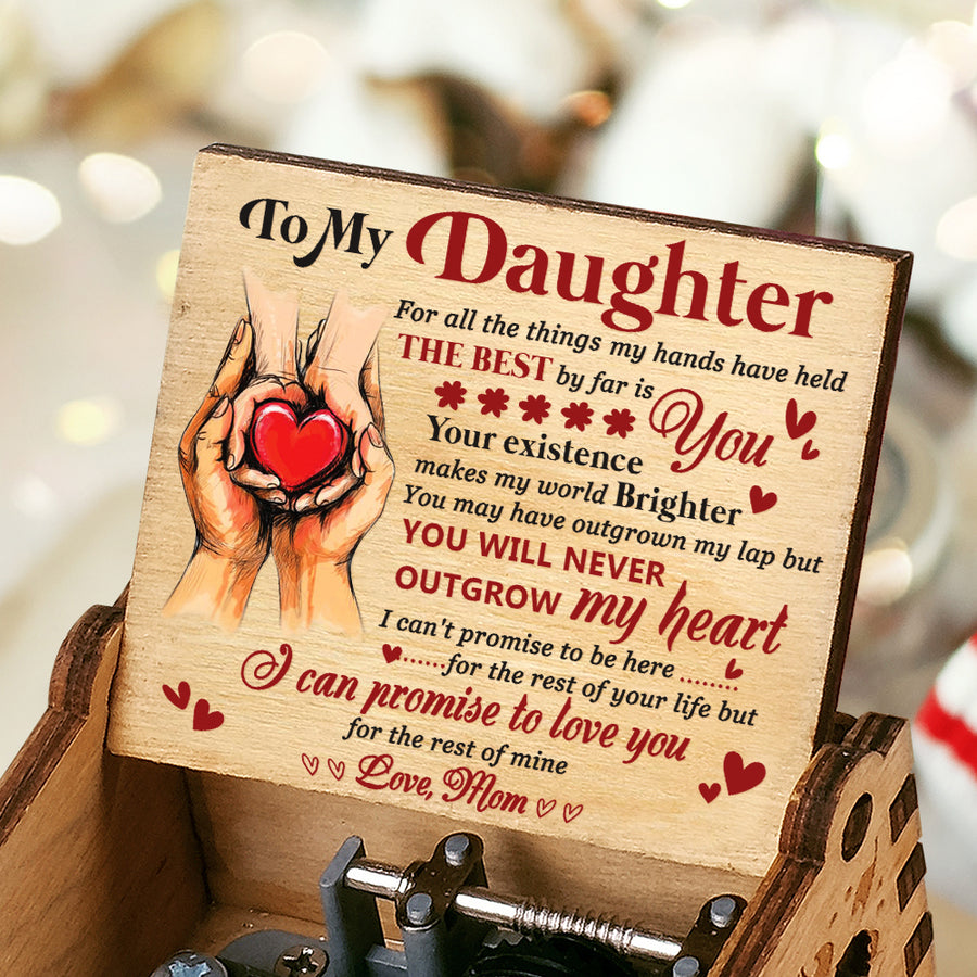 Mom To Daughter - The Best By Far Is You - Colorful Music Box