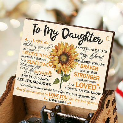 Mom To Daughter - Don't Be Afraid Of Being Different - Music Box Color
