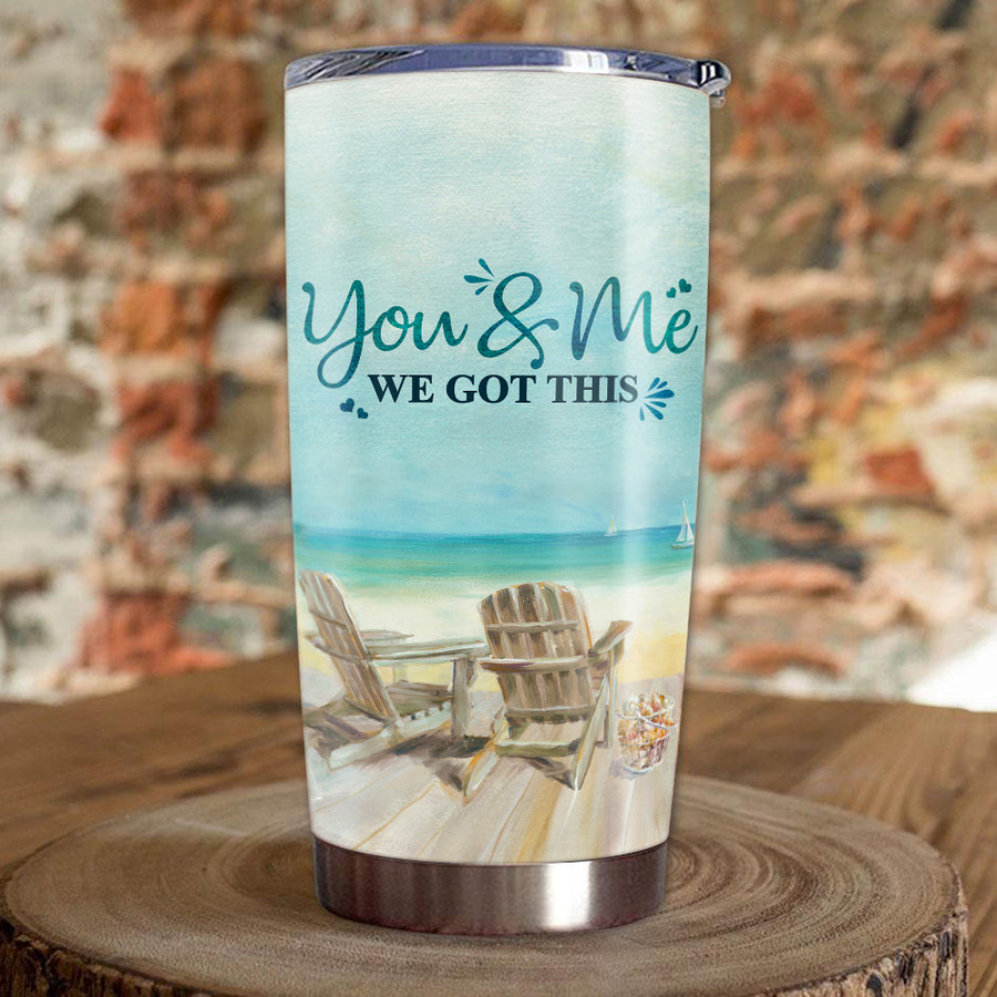 To Your Husband - We Got This - Personalized Tumbler