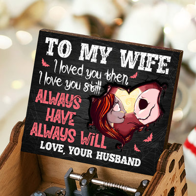 Husband To Wife - I Loved You Then - Colorful Music Box
