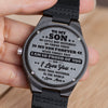 Mom To Son - I Love You More Than Anything In The World - Wooden Watch