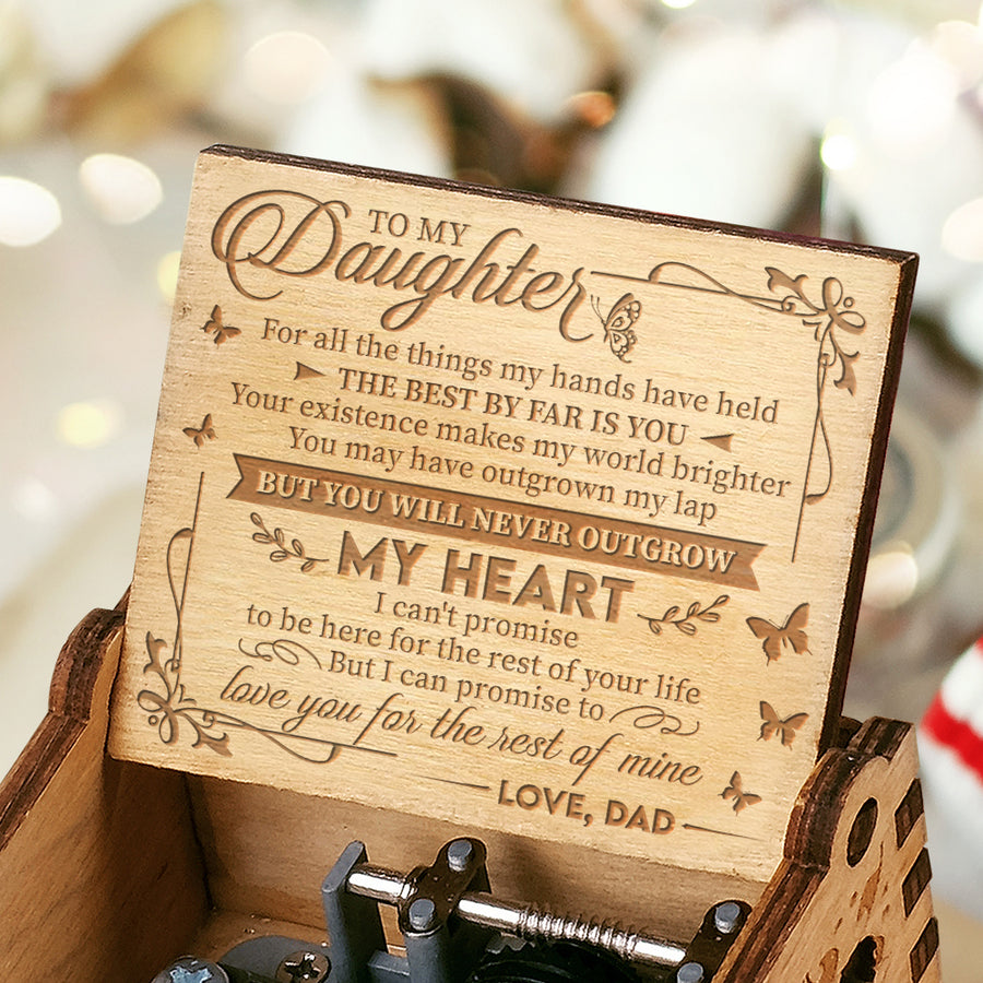 Dad To Daughter - My world brighter - Music Box