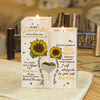Mother To Daughter - In a world full of roses, Be A Sunflower - Candle Holder Color