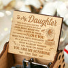 Dad To Daughter - Just Remember That I Love You - Engraved Music Box