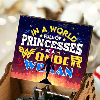 To My Daughter - Be A Wonder Woman - Color Music Box