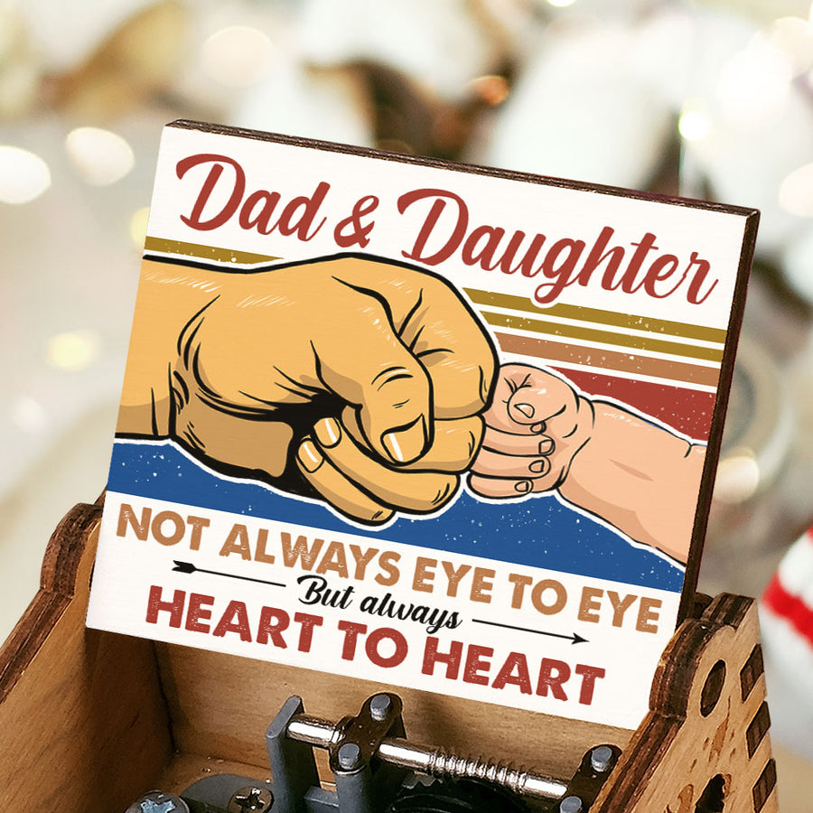 Dad And Daughter - Heart To Heart - Music Box