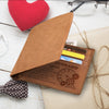 Wife to Husband - I Love You - Bifold Wallet