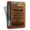 Mom To Son - Listen To Your Heart And Take Risks Carefully - Card Wallet