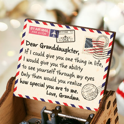 Grandma To Granddaughter - How Special You Are To Me - Colorful Music Box