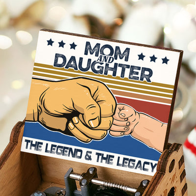 Mom And Daughter - The Legend And The Legacy - Music Box