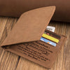 Grandparents To Grandson - I Love You More Than Anything In The World - Bifold Wallet