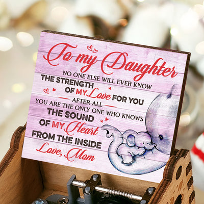 Mom To Daughter - The Sound Of My Heart - Colorful Music Box