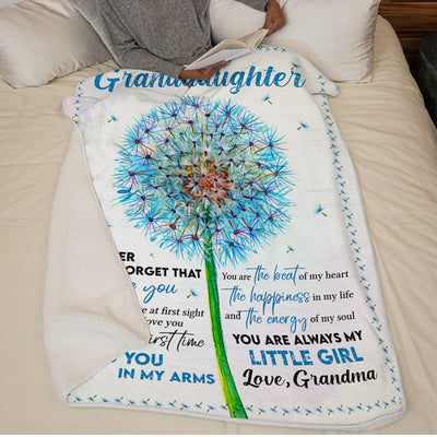Grandma To Granddaughter - Never Forget That I Love You - Blanket