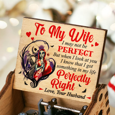 Husband To Wife - I May Not Be Perfect - Colorful Music Box