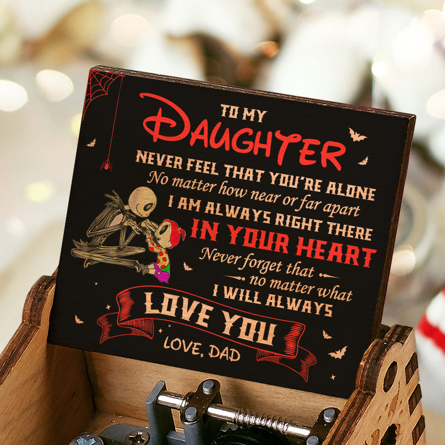 Dad To Daughter - Never Feel That You're Alone - Colorful Music Box