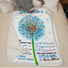 Mom To Daughter - Never Forget That I Love You - Blanket