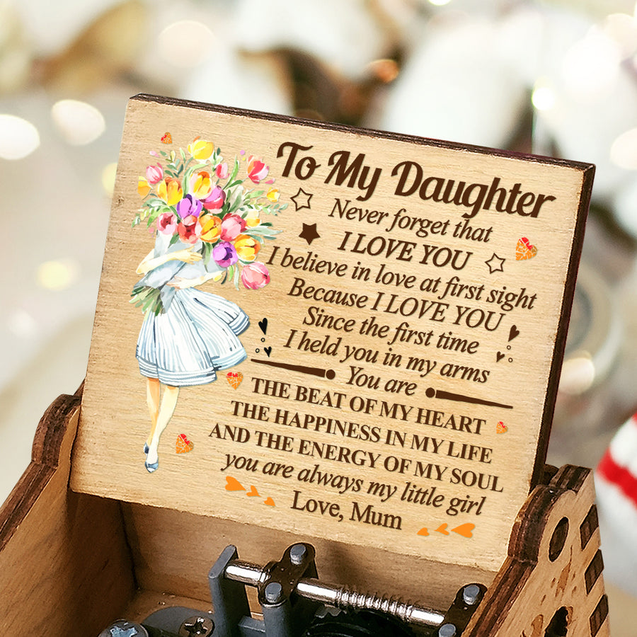 Mum To Dau - You Are Always My Little Girl - Colorful Music Box