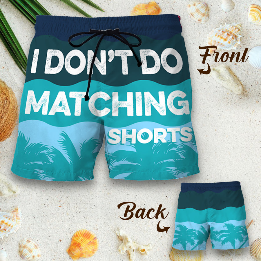 Couple Matching - I Do - Shorts