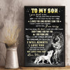 Mom To Son - Everything I Did For You, I Did From Love - Vertical Matte Posters