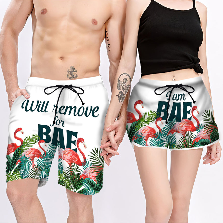 Couple Matching - For Bae - Shorts