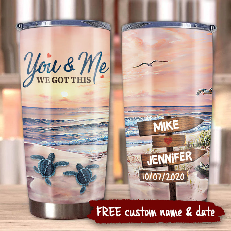 You & Me - Personalized Tumbler