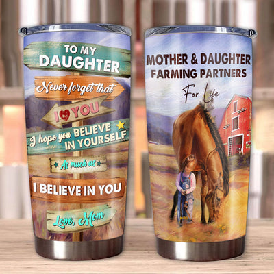 Mom to Daughter - Never forget that I Love You - Tumbler
