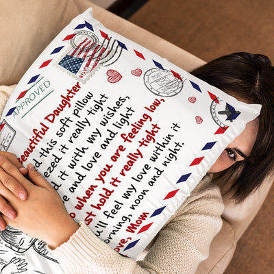 Mom To Daughter - I Filled It With My Wishes - Pillowcase