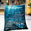 Mom To Daughter - Believe In Yourself And Remember To Be Awesome - Blanket