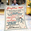 Husband To Wife - You Are My Incredible Woman - Blanket