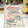Wife To Husband - You Are My Incredible Woman - Blanket