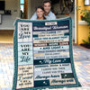 Husband To Wife - I have filled it with wishes, hope, love and light - Blanket