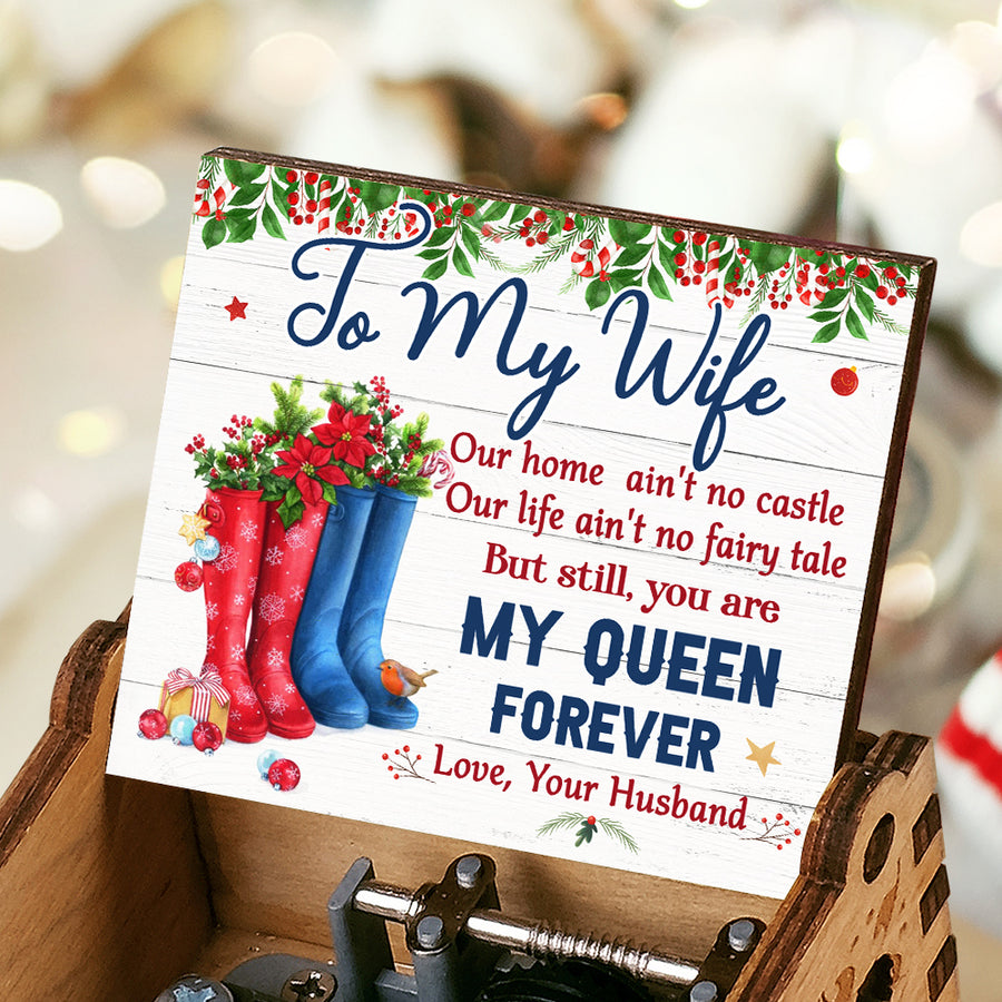 Husband To Wife - you are my queen - Colorful Music Box
